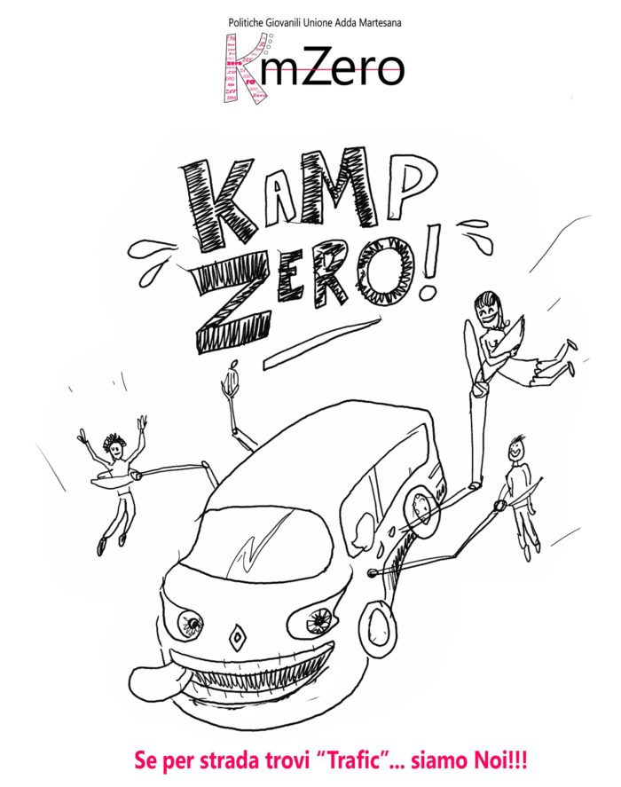 CAMP zero locandina luglio 20158