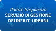 Portale Trasparenza Servizio di gestione dei rifiuti urbani
